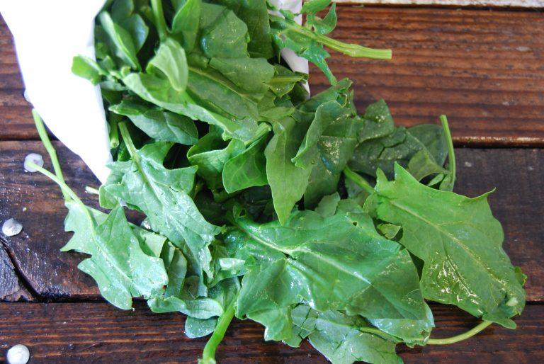 spinach organic