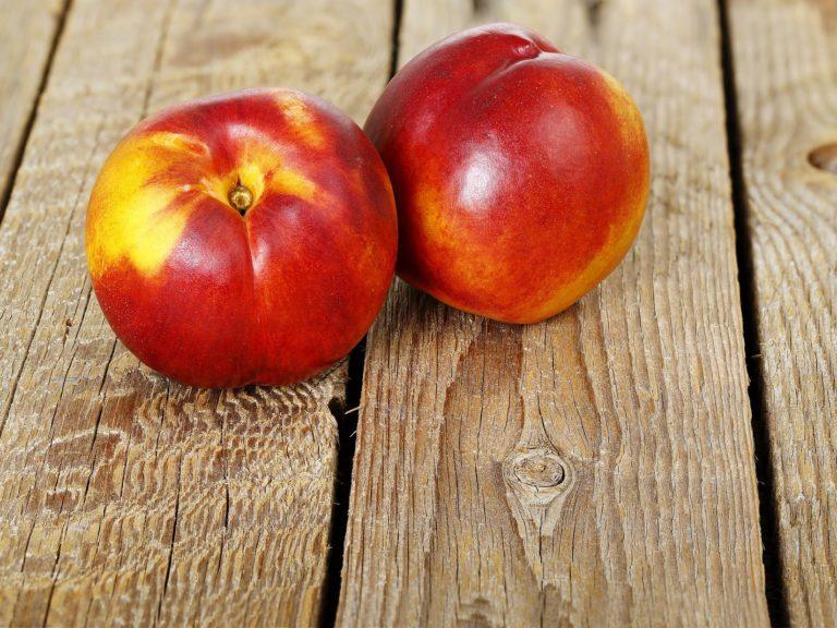 2 fresh nectarines