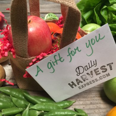 daily harvest express gift