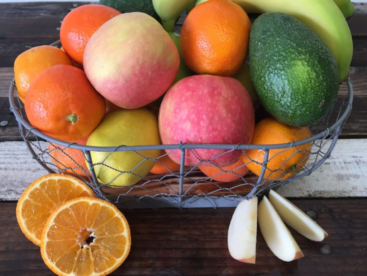 fruit to breakroom basket