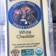 organic white cheddar