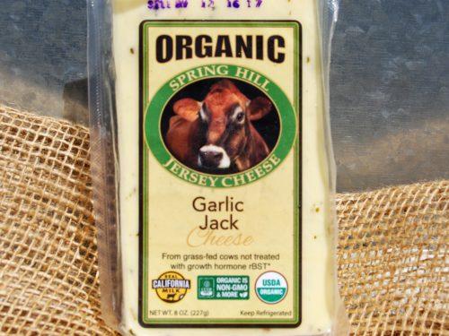 organic garlic jack cheese