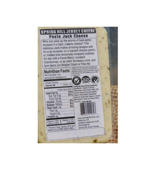 organic pesto jack cheese