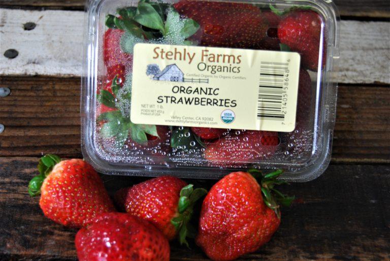 san deigo organic strawberries