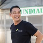 Endeavour Shen, founder of Sundial Farms. Local food, CSA - San Diego, CA.