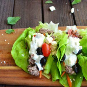 Greek Lettuce Wraps