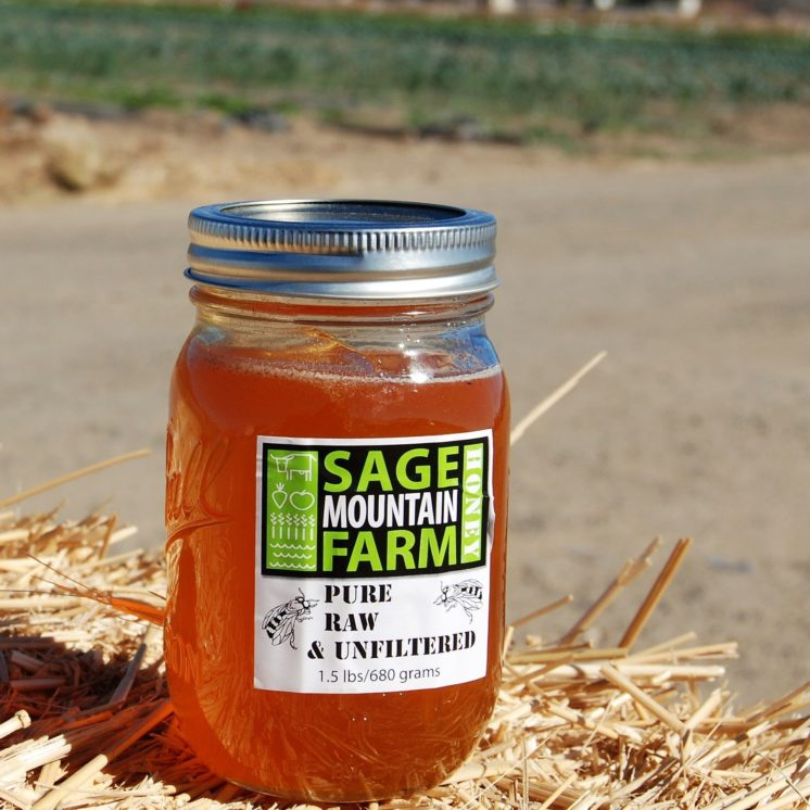 Honey from sage mountain farm - Daily Harvest Express San Diego CSA