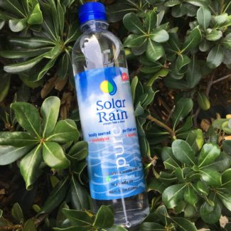 solar rain 9 ph alkaline water