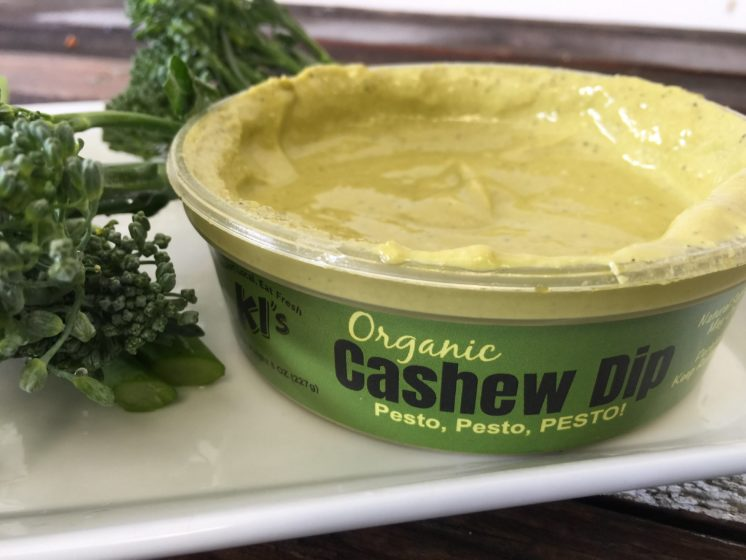 ki's organic cashew dip pesto