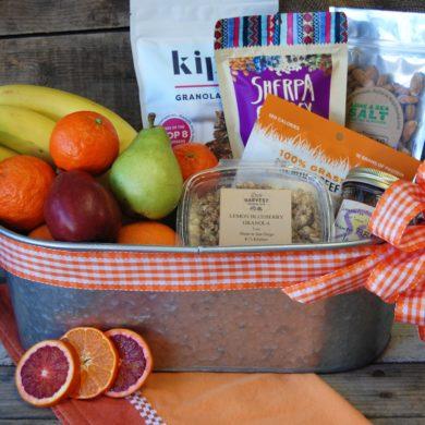 Farmers Market Gift Basket