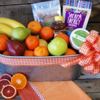 Medium Organic Snack Gift Basket