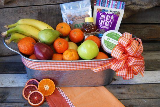 Medium Organic Snack Gift Basket