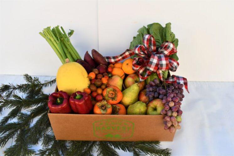 holiday food box gift