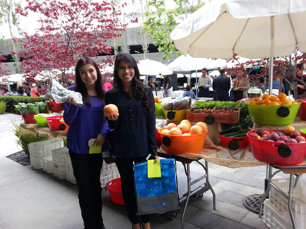 Nothing makes us happier than smiling faces and hands full of farm-fresh organic produce.