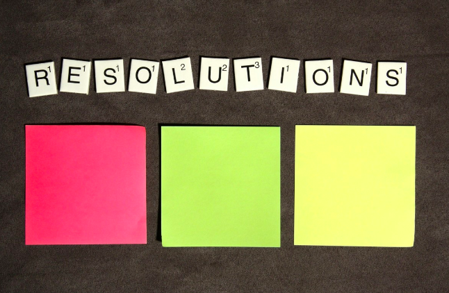 How to achieve your resolutions