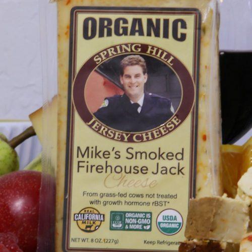organic smoked firehouse jack cheese