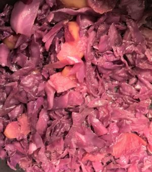 German Rotkohl (Sweet/Sour Red Cabbage)