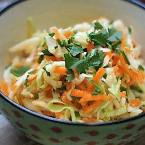 Sesame Citrus Cabbage Salad
