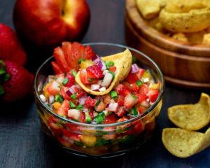 Strawberry Nectarine Salsa