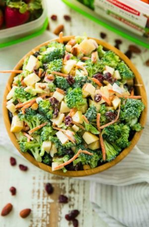 Healthy Broccoli Apple Salad