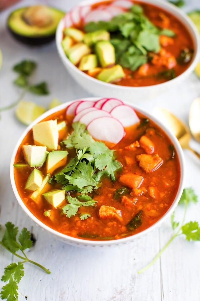 Mexican Sweet Potato Soup