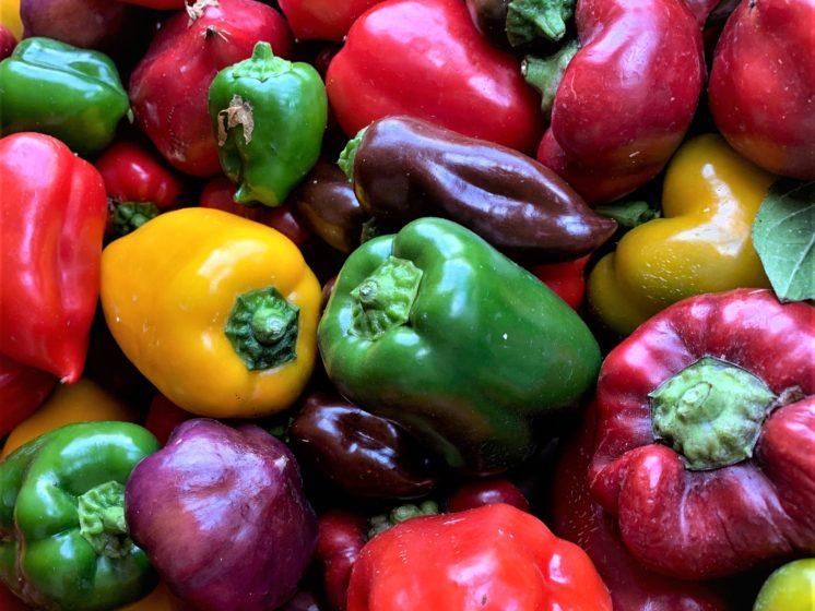 sweet mini peppers