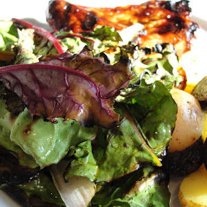 grilled chard & potatoes