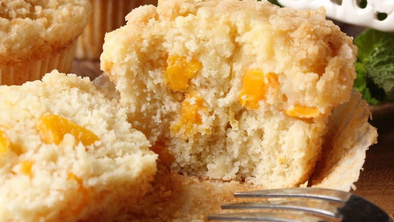 Peaches & Cream Muffins