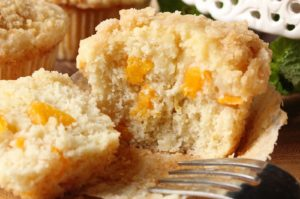 Peaches & Cream Muffins
