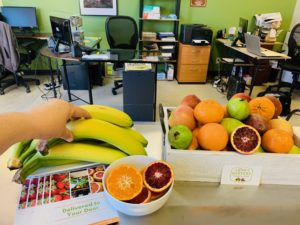 breakroom fruit boxes