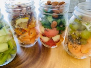 mason jar smoothies