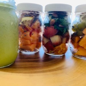 Make ahead smoothies