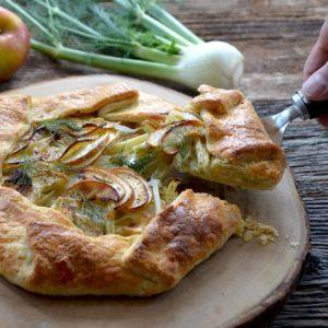 fennel apple tart
