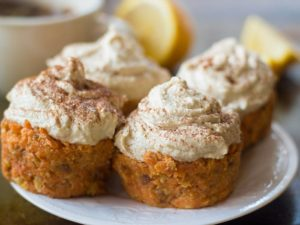 No Bake Carrot-Orange-Lemon Cakes