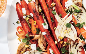 Raw and Roasted Carrots and Fennel