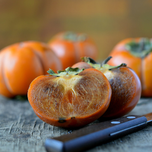 chocolate persimmons in southern california