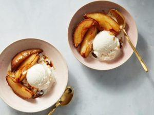 Sauteed Asian Pear Dessert