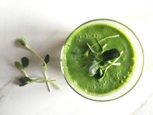 microgreen smoothie