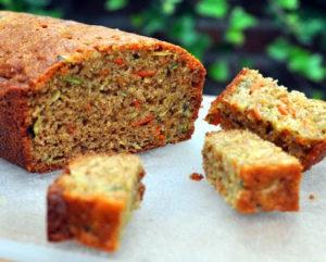 zucchini microgreen bread