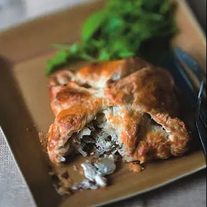 chicken and pear turnover