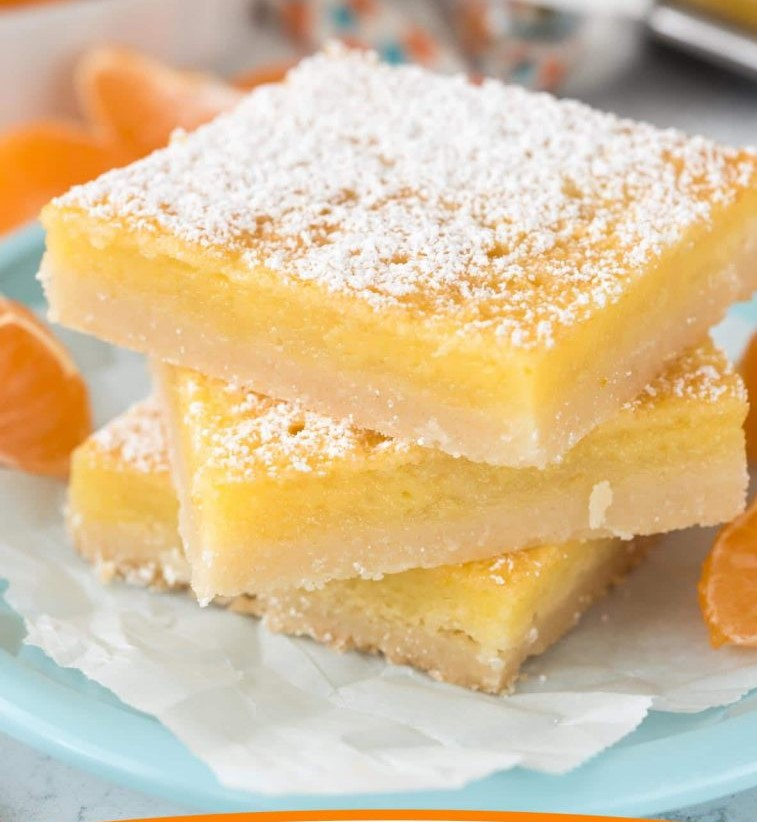 Orange Dream Bars