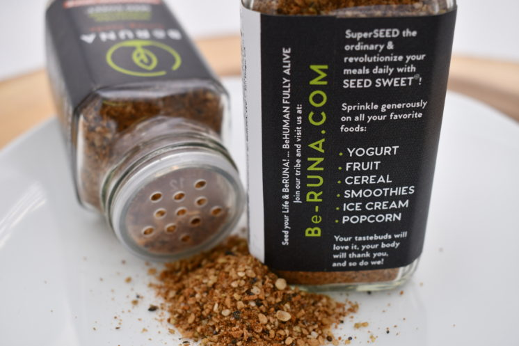 be runa cinnamon spice seasoning label