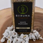white popcorn