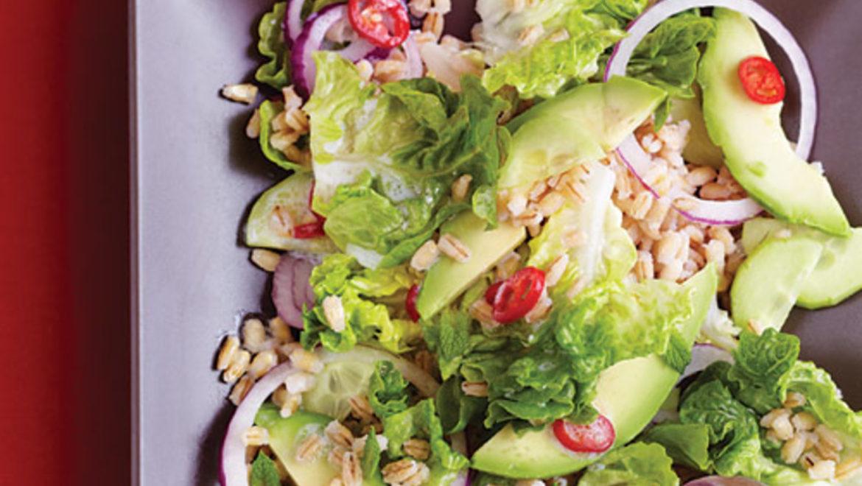 Mixed Vegetable & Farro Salad