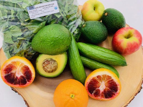 organic produce for energy