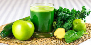 Green Detox Juice Smoothie