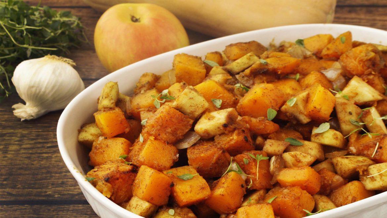 Butternut Squash & Apple Bake