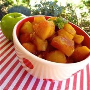 Chunky Cinnamon Orange Applesauce