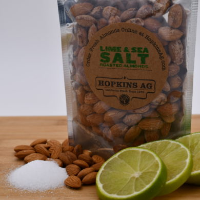 lime sea salt almonds