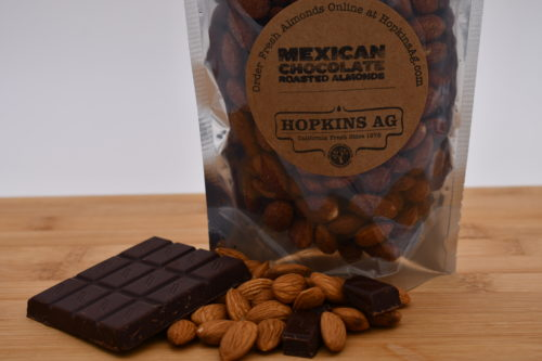 mexican chocolate almonds